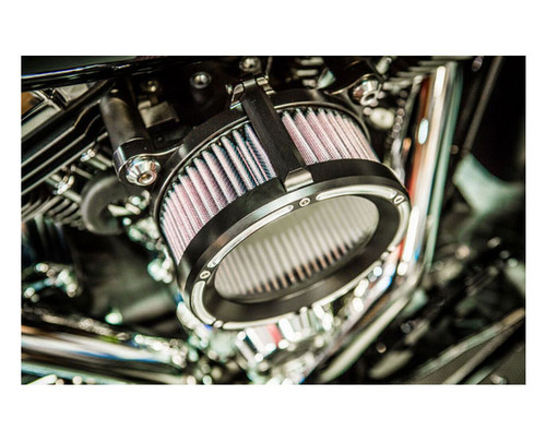 Trask Assault Charge High Flow Air Cleaner Kit for Harley Davidson Touring Models '17-Up Reverse Cut