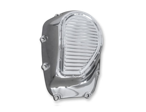 Covingtons Customs Cam Covers for 17-Up Milwaukee Eight - Chrome Dimpled