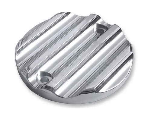 Covingtons Customs Points Covers for 17-Up Milwaukee Eight - Chrome Finned