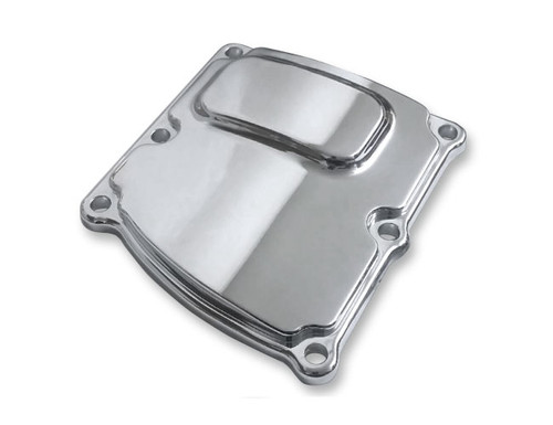 Covingtons Customs Transmission Top Cover for Milwaukee Eight '17-Up - Chrome Smooth