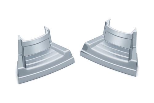 Kuryakyn Precision Spark Plug Covers for Milwaukee Eight - Select Chrome or Gloss Black
