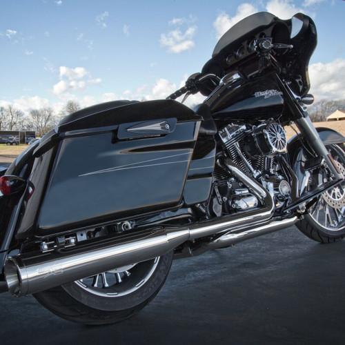 RCX Tormentor Headers for Harley Davidson Touring Models 2017-Up - Chrome