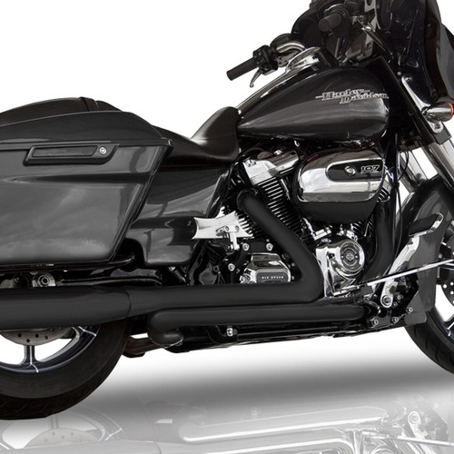 RCX Tormentor Headers for Harley Davidson Touring Models 2017-Up - Black Ceramic