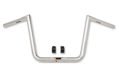 L.A. Choppers 1.25 inch Hefty Twin Peaks Handlebars for Harley Davidson Road Glide Models '15-Up (Select Color and Height)