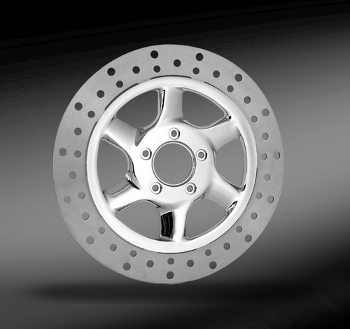 RC Components Recoil Chrome Wheel for Harley Davidson Models (Choose  Options)