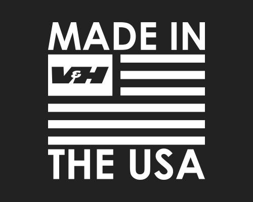 Vance & Hines Big Radius 2-into-2 Exhaust System for Harley Davidson Dyna Models '06-17 - Black