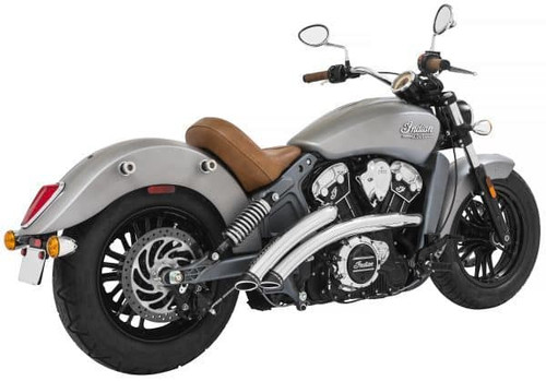 Freedom Performance Exhaust Radical Radius System for Indian Scout Models '15-Up (Select Finish)