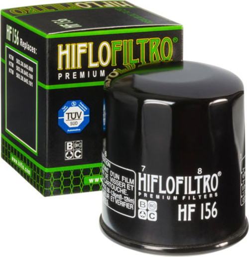 *CLEARANCE* Hiflofiltro Oil Filters for ATV/UTV (Click for Fitment) -Black