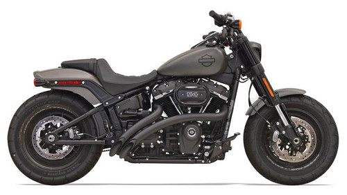 Bassani Radius Sweepers for 2018-Up Harley Davidson Softail Models - Black (Click for Fitment)
