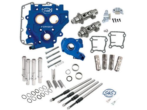 S&S 585CEZ East Start Chain Drive Camchest Kit for '07-17 Harley Davidson Twin Cam and '06 Dyna Models
