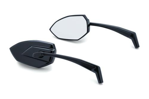 Kuryakyn Phantom Mirrors - Select Chrome or Black (Pair)