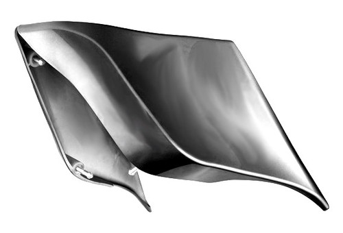Color Matched ABS Stretched Extended Side Covers for '14-Up Harley Davidson Touring Models