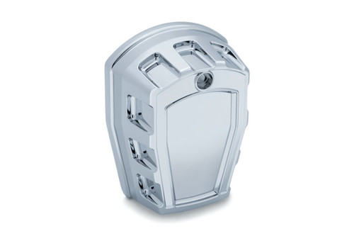 Kuryakyn Maverick Horn Cover for '95-18 H-D models equipped with the 'Cowbell' horn - Choose Chrome or Black