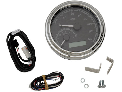 Dakota Digital 140 MPH Speedometer, Tachometer for '11-Up Softail, '12-Up Dyna and '14-Up Road King