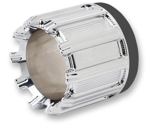 Arlen Ness Chrome 10 Gauge 4.5 inch Vance and Hines Exhaust Tip - Sold Each (Select Black or Chrome)