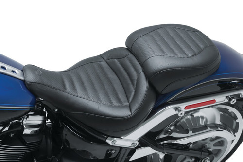 Mustang Passenger Pillion for Standard Solo Touring Seat for '18-Up Harley-Davidson Softail Fat Boy