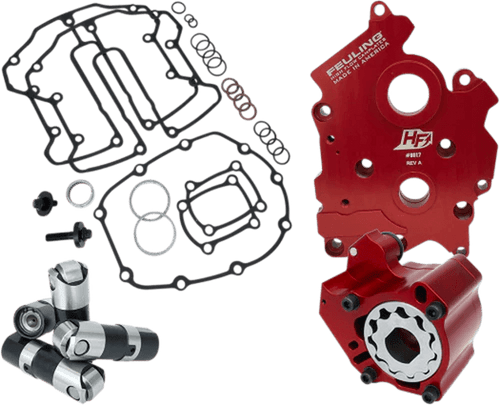 Feuling Race Oil Pump and Cam Plate Kit for 17-Up Harley-Davidson M8 Oil Cooled  Models