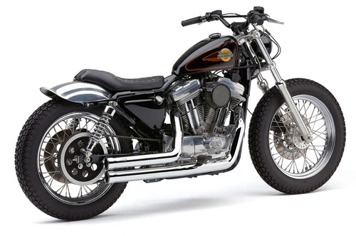 Cobra Speedster 909 Exhaust for '86-03 Harley Davidson Sportster Models - Chrome