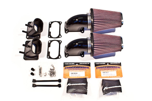 ForceWinder Dominator Air Kit for '06-Up Suzuki M109R (Choose Black or Polished)