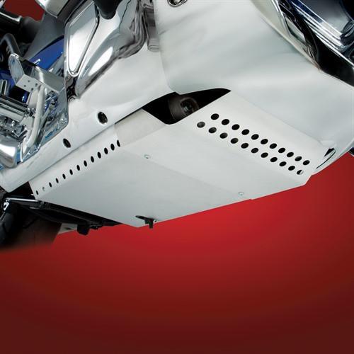 Big Bike Parts Belly Pan for '01-17 Honda GL1800 Goldwing Models (Choose Black or Aluminum)