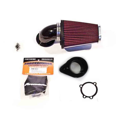 ForceWinder Air Intake Kit for '03-09 Honda VTX 1300 - Gloss Black