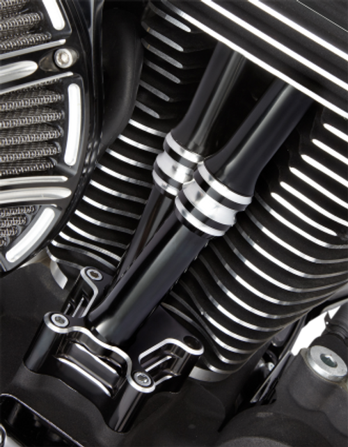 Arlen Ness Deep Cut Pushrod Tube Kits for '17-Up Harley Davidson Milwaukee Eight Engines (Choose Chrome or Black)