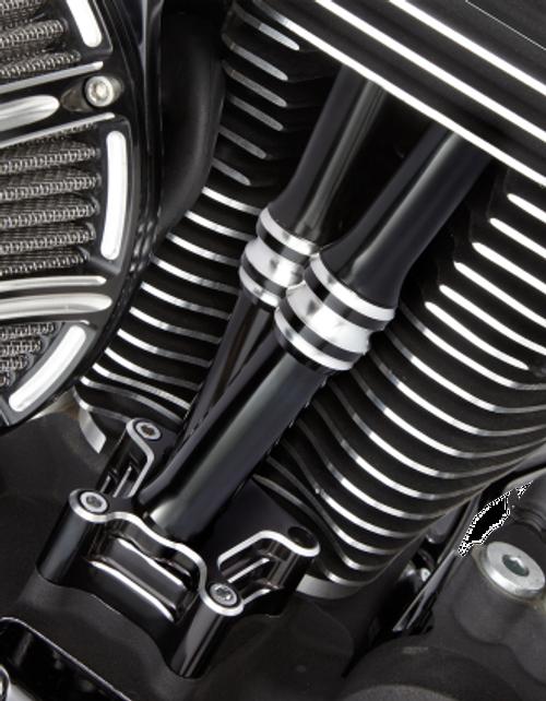 Arlen Ness Deep Cut Pushrod Tube Kits for '17-Up Harley Davidson Milwaukee Eight Engines (Choose Chrome or Black)