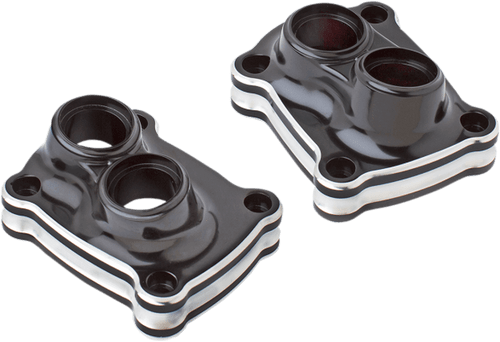 Arlen Ness 10 Gauge Lifter Block Covers for '17-Up Harley Davidson Milwaukee Eight Engines (Choose Chrome or Black)