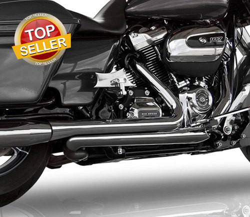 Stage 2 TAB 4 inch BAM Sticks Power Package for '17-Up Harley Davidson Touring Models (Choose Black or Chrome)