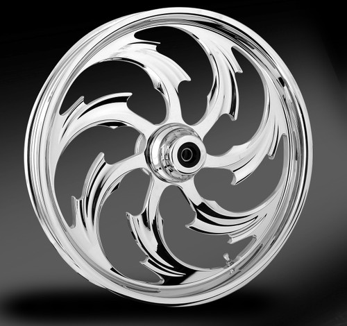 RC Components Custom Wheels for Metric Cruisers -  Chrome Finish (Click for fitment and Style)