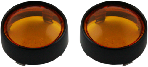 Custom Dynamics Custom Bullet Bezels For ProBEAM Turn Signals (Choose Black or Chrome)