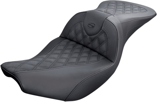 Made with perforated leather Road Sofa LS Seats
