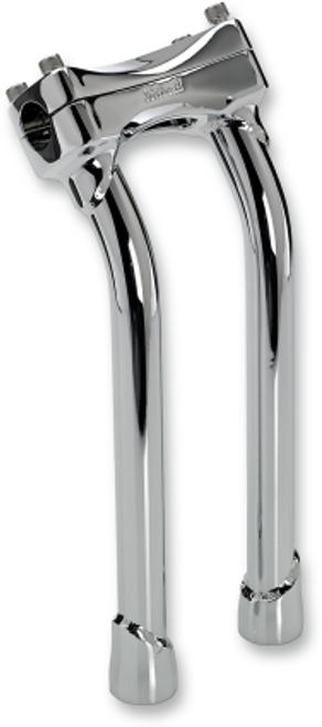 "Biltwell Murdock Pullback Risers for Harley-Davidson Models (8""-10""-12"") Chrome or Black"
