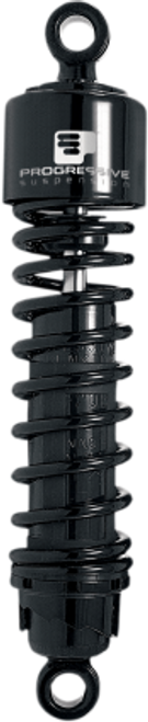 "Progressive Suspension 412 Series Shocks for '91-17 FXD/FXDWG Black 12.5""-Pair"