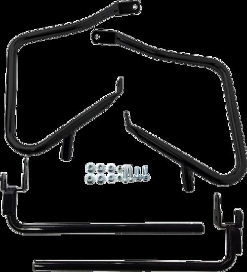 Drag Specialties Saddlebag Guards/Support Kits for '97-08 & '14-Up Harley Davidson FLHX/FLTRX (Choose Finish)