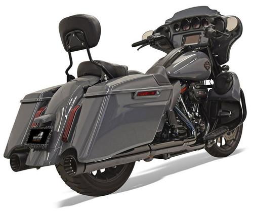 Bassani CVO 4 inch DNT Slip On Mufflers for '17-Up Harley-Davidson CVO Touring Models