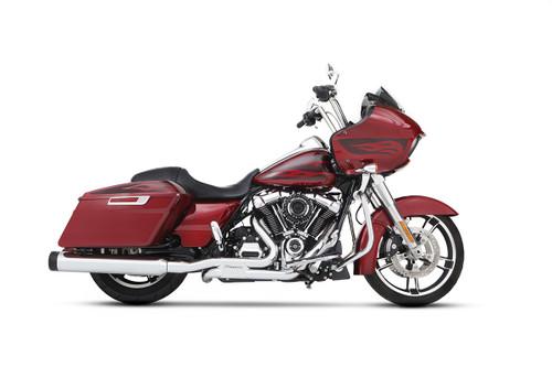 Rinehart 4.5″ DBX45 Slip On Mufflers for '17-Up Harley Davidson Touring Models (Choose Finish)