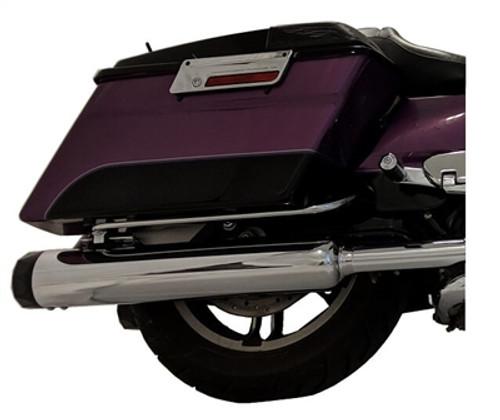 TAB Performance 4.5 inch B.A.M. Stick Slip On Mufflers for '95-16 Harley-Davidson Touring Models (Choose Chrome or Black)