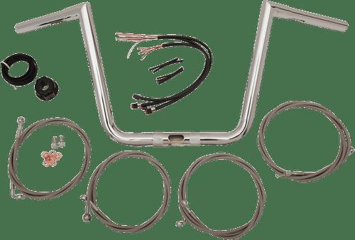 L.A. Choppers Ape Hanger Handlebar Kits for '17-Up Harley Davidson Road Glide Models w/ ABS