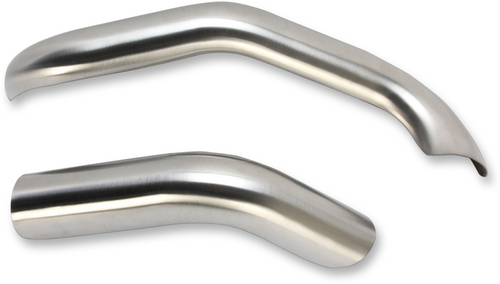Bassani Heat Shields for 1D1SS Road Rage III 2-into-1 Exhaust - Stainless