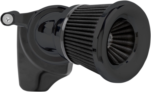 Arlen Ness Velocity 65° Air Cleaner Kit for 17-Up Harley Davidson Touring (without Fairing Lowers) and '18-Up Softail Models (Choose Chrome or Black)