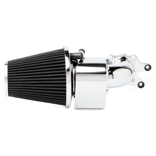 Arlen Ness 90° Air Cleaner Kit for '14-Up Indian Models for 111 Thunderstroke (8 Styles) Chrome or Black