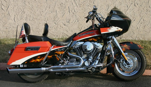 D&D Boarzilla 2-into-1 Exhaust System for '09-16 Harley Davidson Touring Models and Trike (Select Chrome or Black)