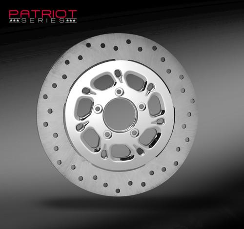 RC Components Trigger Chrome Wheel for Harley Davidson Models (Choose Options)