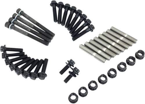 Feuling Internal Rocker Arm Shaft Studs and Nut Kit for Harley Davidson M-Eight Engines