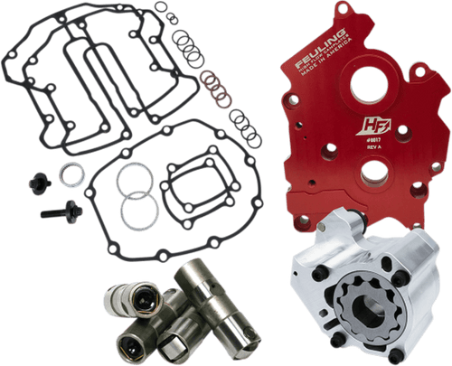 Feuling HP+ Oil Pump and Cam Plate Kit for 17-Up Harley-Davidson M8 TWIN Cooled  Models