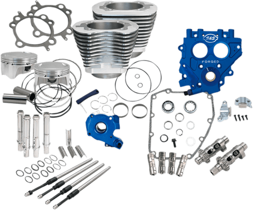 S&S Cycle Complete 100 inch Big Bore and Cam Chest Kit for '99-06 Twin Cam Engines (Select Options)