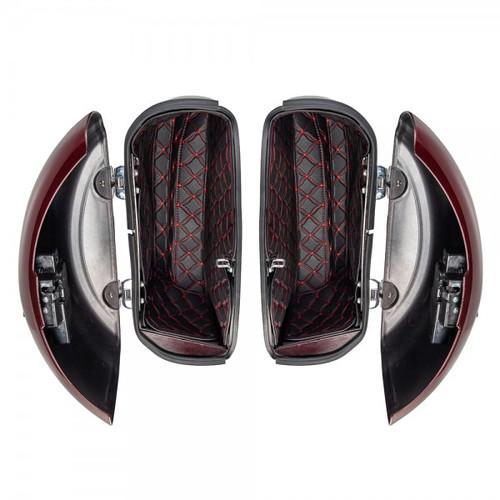 custom designed saddlebag liners made just for Indian Touring Models with hard saddlebags
