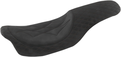 Mustang Revere Journey One Piece Seat for Harley Davidson Touring '08-20 (Six Styles)