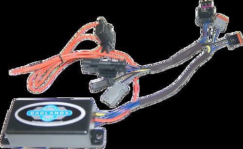 Badlands Illuminator Plug-N-Play Run Brake and Turn Signal Module for Harley Davidson FLHC, FLDE, FXLR Softail '18-Up
